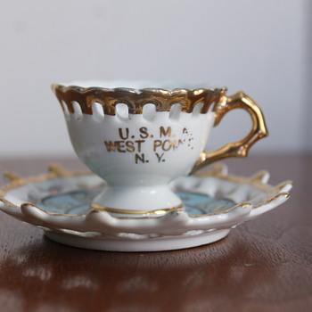 USMA West Point Cup and Saucer