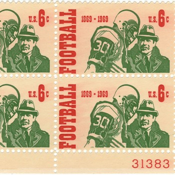 Football commemorative stamps
