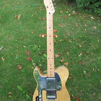 My Left Handed Schecter Telecaster