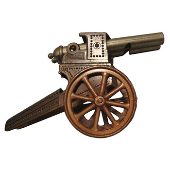 Whistle in the shape of a WWI Cannon - Musical Instruments