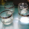 Mad Men Dorothy Thorpe  Roly Poly Silver Band Glasses