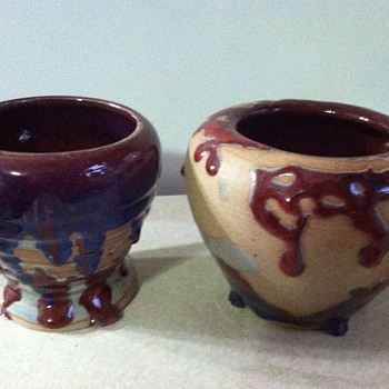 Mark z with a line through it ? - Art Pottery