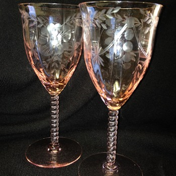 Central Glass Works - Elegant Glass Stemware
