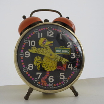Big Bird Alarm Clock