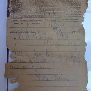 1888 Telegram