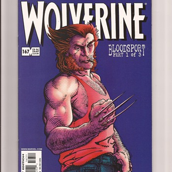 Wolverine favourites - Comic Books