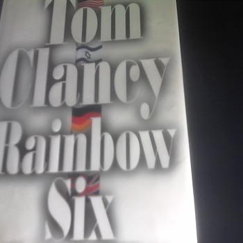 """Tom Clancy """"Rainbow Six"""" - Books"""