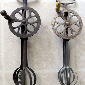 Antique Egg Beaters - Kitchen