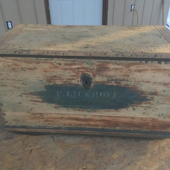 Antique Trunk from who knows where