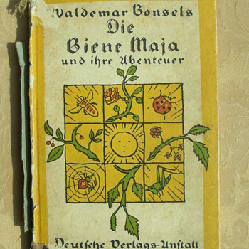 first Edition on Biene Maja - Books