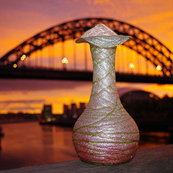 Kralik Silveria large vase - Art Glass