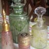 Cameo glass perfume bottles