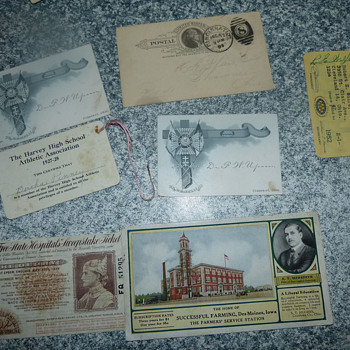 Assorted Ephemera
