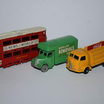 Lesney N°03 trolley toy - Model Cars