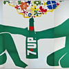 (4) 21&#039;x10&#039; vintage 7Up UnCola billboard posters, 1971