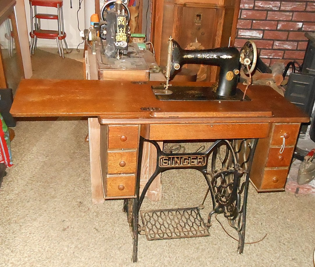 singer treadle sewing machine manual