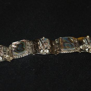 Mexican Vintage Alpaca Bracelet