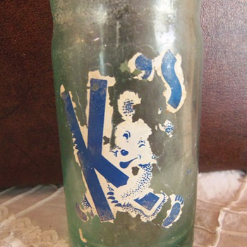 Vintage Soda Pop Bottle