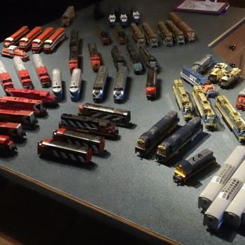 52 ho engines!!! - Model Trains