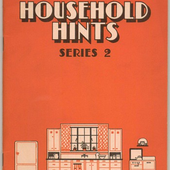 1930&#039;s - Ceresota Flour Household Hints Booklet - Books