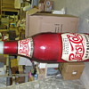 RARE 1930&#039;S PEPSI BOTTLE 6 feet TALL! OK, IT&#039;S MADE OF WOOD....
