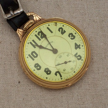 Illinois pocket watch,Sangamo Special