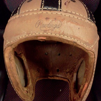 1930'S RAWLINGS FOOTBALL HELMET  - Football