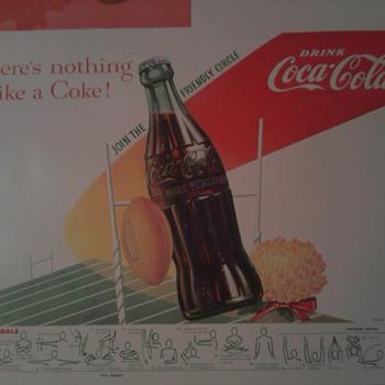 Coca Cola Poster/Ad - Coca-Cola
