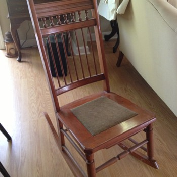 Small Rocking Chair - Furniture