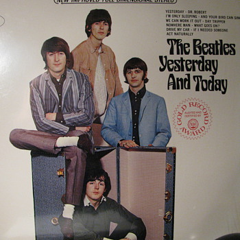 Yesterday and Today The Beatles - Records