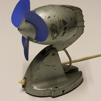 1950s GEC {general electric company} atomic fan  - Office
