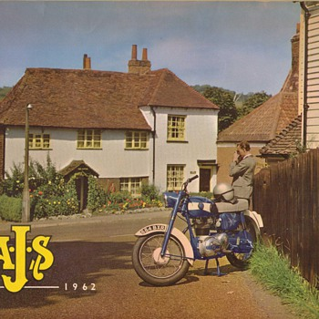 1962 A.J.S. Motorcycle Brochure