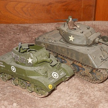 M8 Howitzer Motor Carriage WWII Tank Model - Military and Wartime
