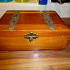 Wooden Cedar Box, 1937, Sent by Bernie