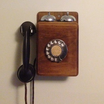 Old fashioned phone from my childhood