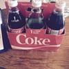 1 Liter Coke Glasses purchased some time in 85