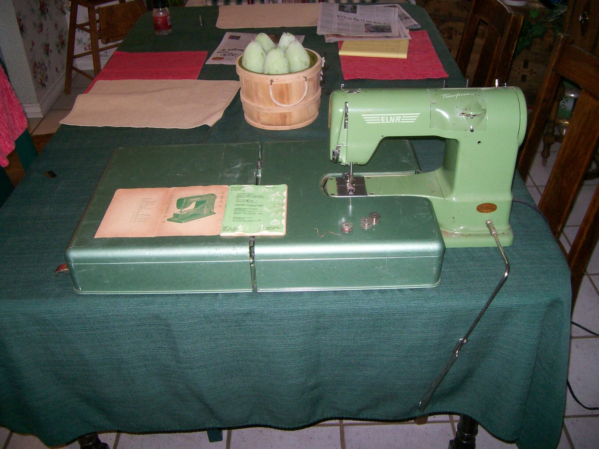 Elna Transforma http://www.collectorsweekly.com/stories/35006-elna-transforma-sewing-machine-1952-58