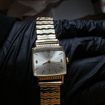 1962 Hamilton &quot;Gary&quot; 10K yellow gold