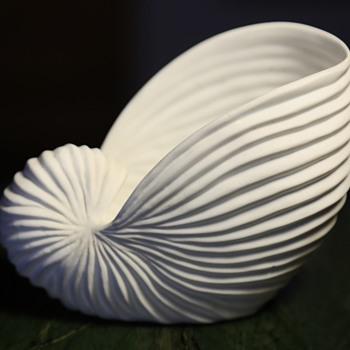 Porcelain Nautilus Bowl - Pottery