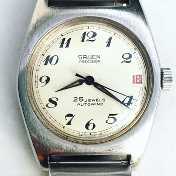 Vintage GRUEN PRECISION Wrist Watch 25 Jewels Autowind - Wristwatches
