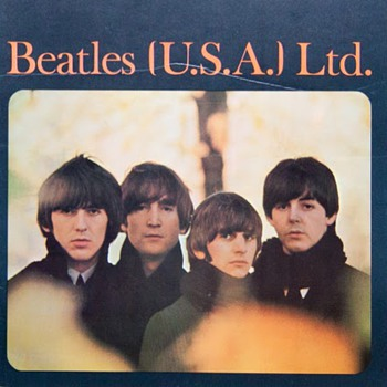 Beatles US tour programs...