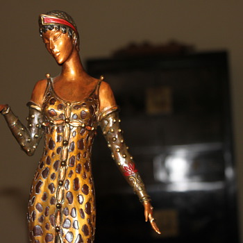 Another Erte Bronze Sculpture Beauty