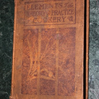 Elements of the Theory and Practice of Cookery - 1908 technical cookbook - Books