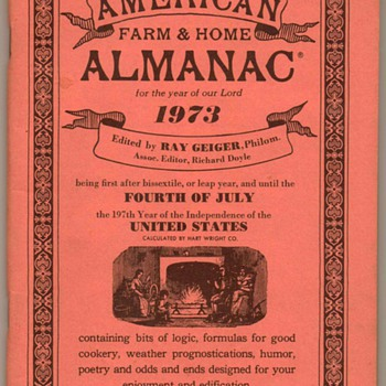 1973 - American Farm & Home Almanac