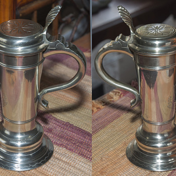 "A Rare Vintage ""Roerken"" Stein by F. (Frans) Santesson 1895"