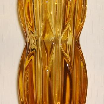 Sklo Union Rosice vase - Art Glass