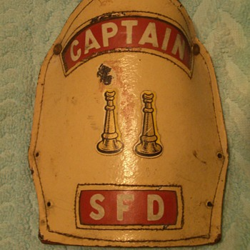 fireman helmet badge