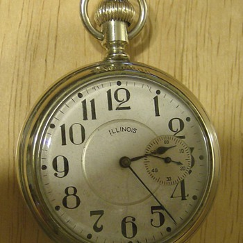 1924 Illinois Pocket Watch