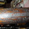 ANTIQUE LOUISVILLE SLUGGER  NO. 125, HILLERICH &amp; BRADSSDY CO. BASEBALL BAT
