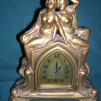 Art Deco Clock - Art Deco